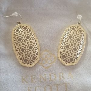 Gold Danielle Earrings